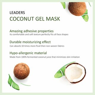 Coconut Bio Mask With Blueberry